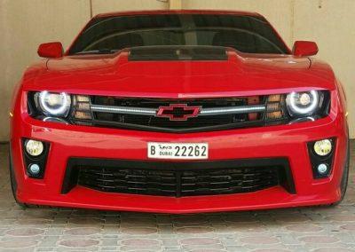Ahmads ZL1 Camaro in Dubai