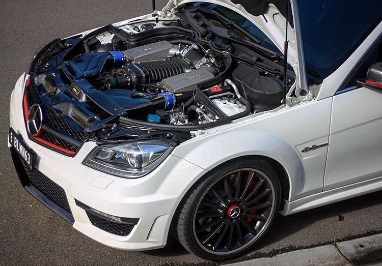 AMG Merc C-63 Interchiller 4