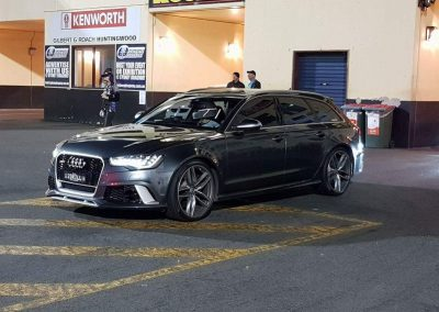 Audi RS6 BiTurbo V8 Interchiller