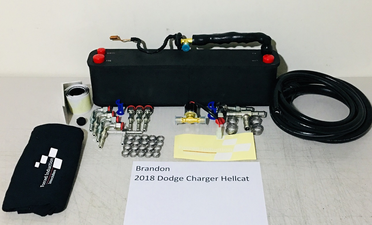 2018 Charger Hellcat Interchiller