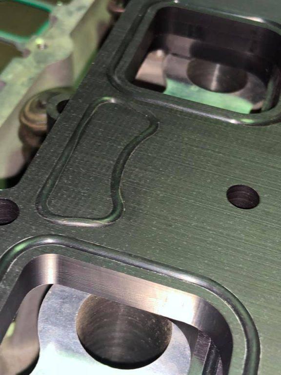 Modern Hemi Blower Spacer Plates