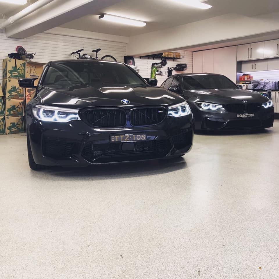 BMW M5 interchiller 1