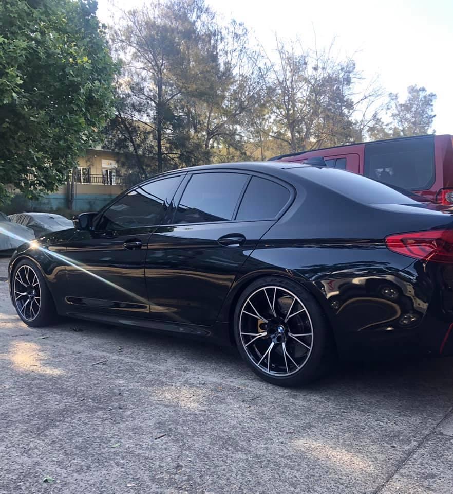 BMW M5 interchiller 2