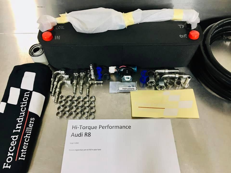 Audi R8 interchiller 2