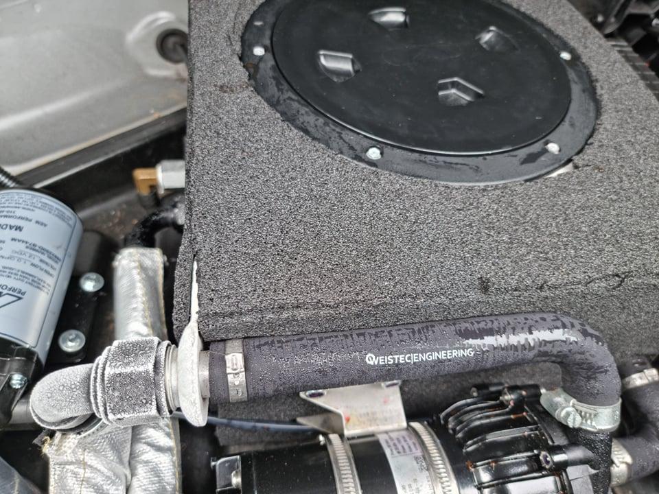 2008 Mercedes C63 Weistec 2.9 interchiller 4