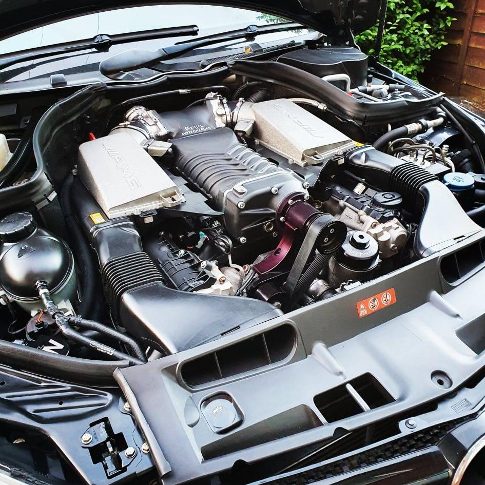 2008 Mercedes C63 Weistec 2.9 interchiller 5