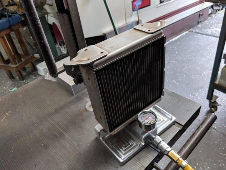 LSA Intercooler Brick Reinforcement