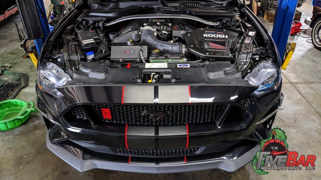 Mustang S550 Interchiller